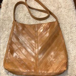 Joanna Gaines Leather Crossbody | Tan